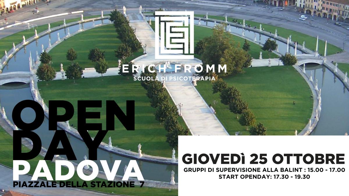 Openday 2018 Scuola di Psicoterapia Padova