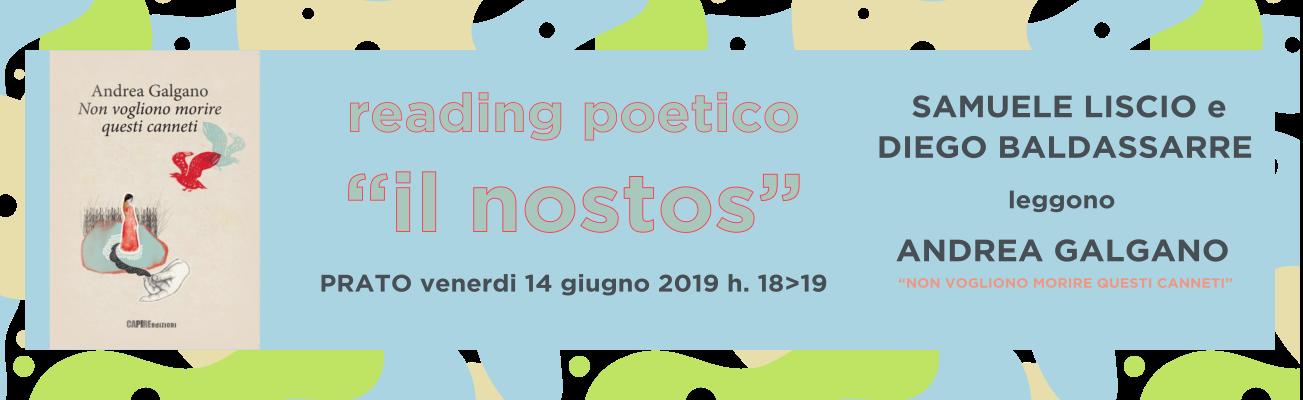 2019.06.14 PRESENTAZIONE PRATO - NON VOGLIONO MORIRE QUESTI CANNETI